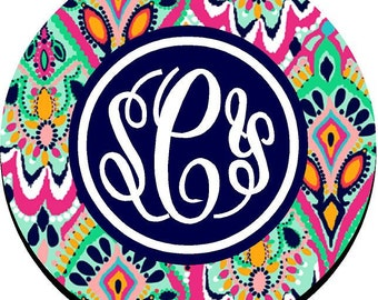 Monogrammed Mouse Pad
