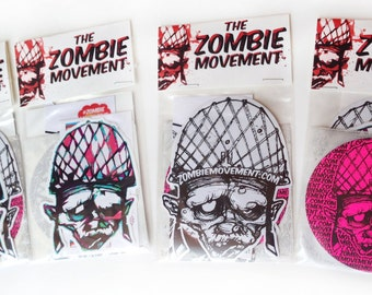 The Zombie Movement Sticker Pack