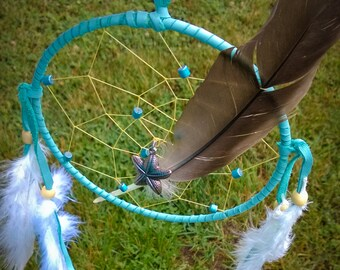Follow Your Own Star  - Starfish Dream Catcher