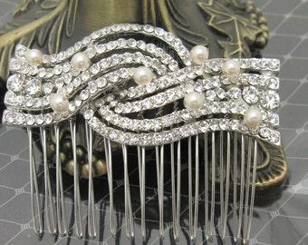 Bridal hair comb pearl,Wedding hair accessories,Bridal hair piece,Wedding hair piece,Bridal comb pearl,Wedding hair clip,Bridal hair piece