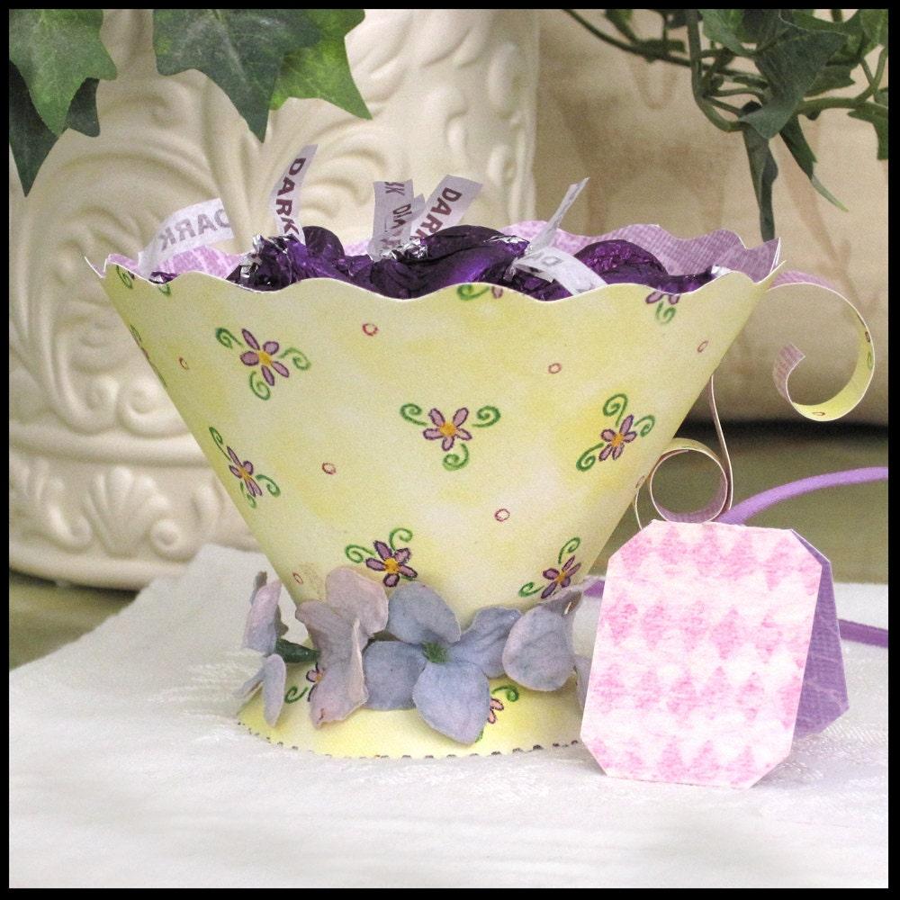 Teacup party favors tea party high tea bridal shower baby for Teacup party favors