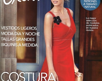 New PATRONES magazine EXTRA costura fácil (back issue).-