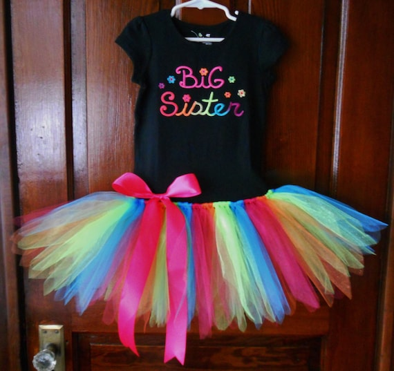 foto de Big Sister Tutu Dress Ready To Ship Size 4T