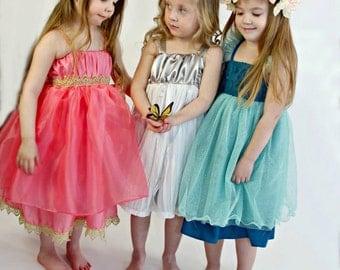 Trendsetter Dress Sewing Pattern, Girls Dress Pattern, Easy Sewing Pattern, Cinderella Dress Pattern
