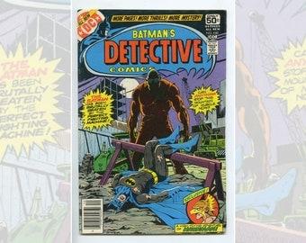 DC Batman's Detective Comics #480 Dec 1978