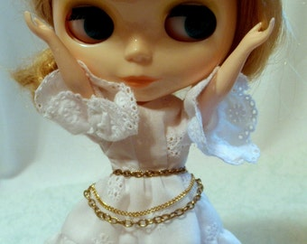 Multiple Chains Belt Necklace Fashion Doll size