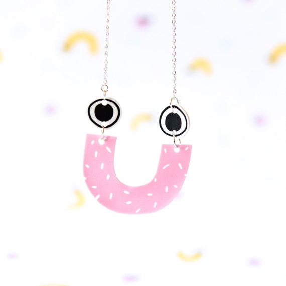 happy necklace by andsmile on etsy