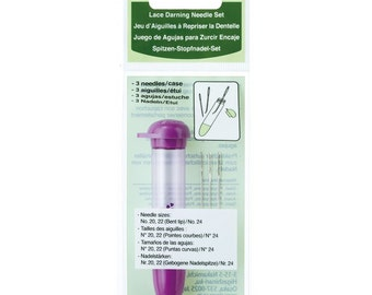 Clover Lace Darning Needle Set Part No. 3168