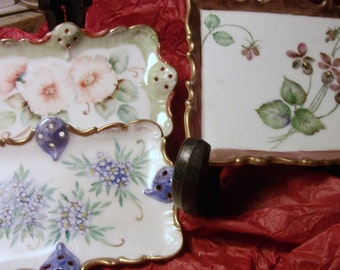 HANDPAINTED PIN TRAYS