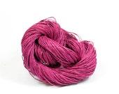 Paper Yarn - Paper Twine: Pink / Magenta - 131 yards (120m) - Knit, crochet, textile arts, DIY supply