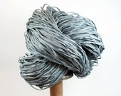 GrayBlue Paper Raffia - Paper Ribbon: 260 yards (240m) - Fiber Arts, Knit, DIY, Gift Wrapping, Weave, etc. - Handwash
