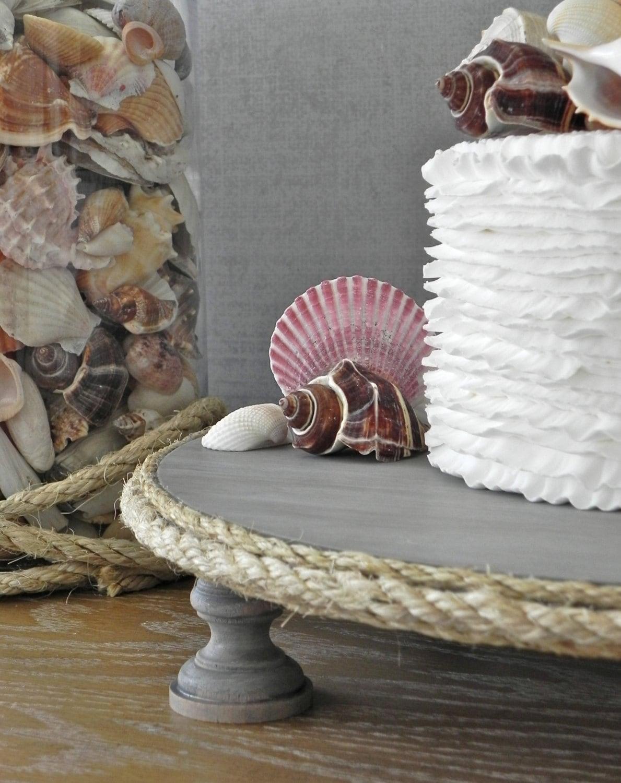 14 Wedding Cake Stand Beach Nautical Wedding Driftwood