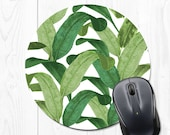Mouse Pad Mousepad Office Desk Accessories Gift Mom Gift for Mom Gift Sister Banana Leaf Office Gifts Office Decor Gift for Coworker