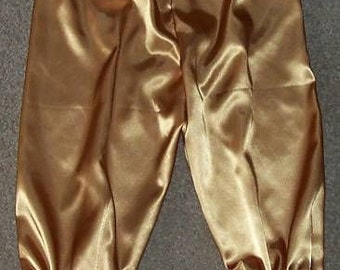 Satin w/lace Adult Bloomers, Knickers NEW Custom MANY colors available