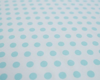 Mama Said Sew Dot - Blue Mist (Moda) Cotton Fabric - 5497-32