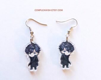 BBC Sherlock earrings - Sherlock