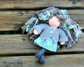 Meet Misty ...a wee 8 inch Short Story Waldorf Doll by Once Upon A Doll