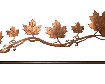 Leaf design quilt hanger