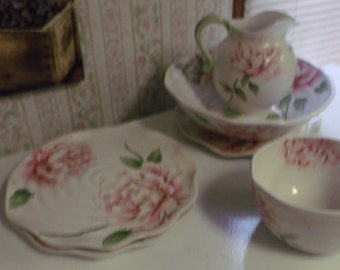 Pink Peony Dishes