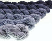 Mini Skein Gradient Ombre DK or Fingering - Protect and Serve - 600 yards