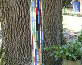 Stained glass Totem Pole