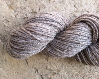 Alpaca, Merino, Sport Weight, Natural Color, Heather Gray, Hand Knitting, Made in Michigan