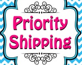 Priority Shipping- Fast Shipping