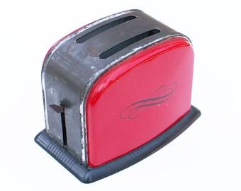Vintage Tin Toy Toaster