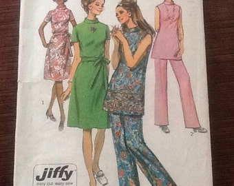 Vintage 1970's Pattern Simplicity 9381