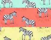 Mini Zebras in 1/2 yard Set - Michael Miller Fabric