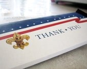 Eagle Scout COH Candy Bar Wrapper. Thank You. Coordinating with Red, White, and Blue Invitation