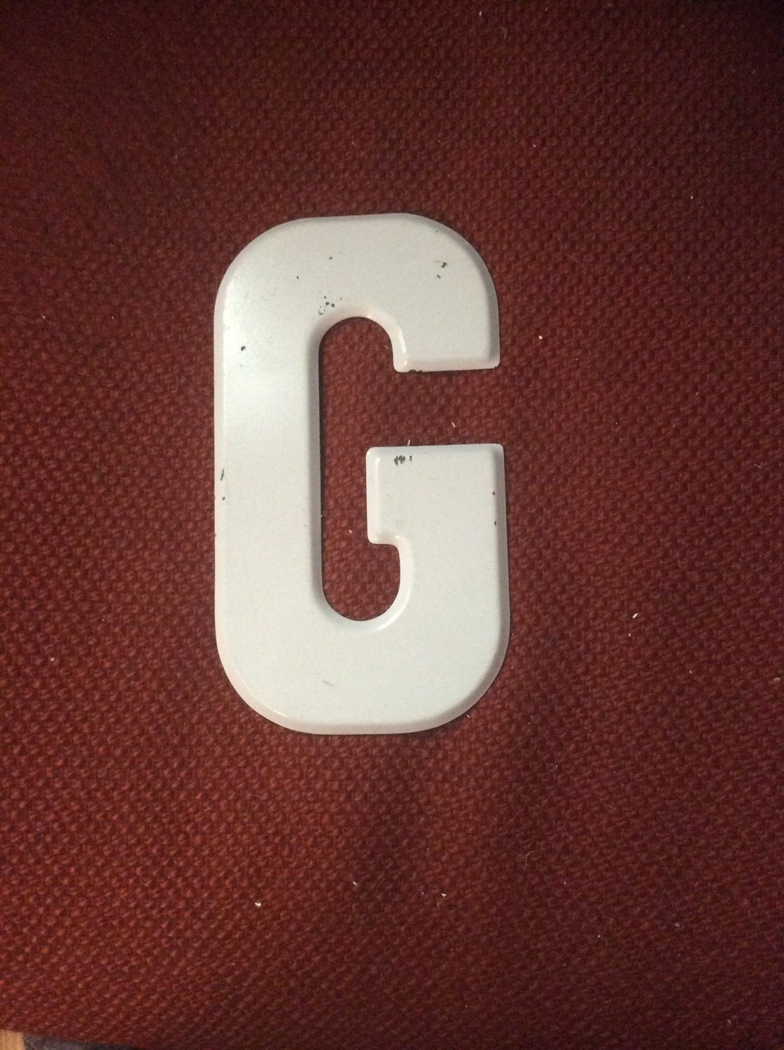 vintage metal marquee letter g by raleighmodern on etsy With metal marquee letter g