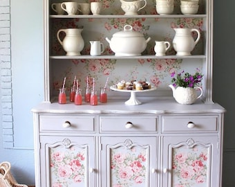 China Cabinet/ French Country Hutch- sold