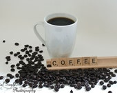 Coffee Wall Art, Photography Print, Latte Kitchen Decor, Kitchen Wall Art, Man Cave Accent, Office Coffee Room Lounge,