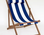 Venice Beach traditional striped deck chair