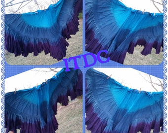 Turquoise ~ Royal ~ Sapphire ~ Grape 25yd Handdyed skirt