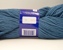 Intermezzo 100% mercerized cotton yarn - Color #78 - Navy Blue