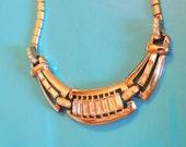 Coro Rhinestone Vintage Necklace 1940s Vintage Designer Jewelry