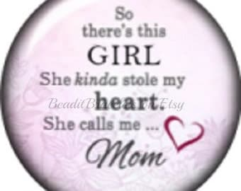 Snap Charm for Mom – Fits Noosa or Ginger Snaps Jewelry