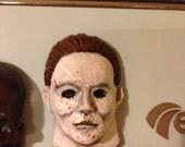 Halloween Mask Fridge Magnet