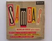 Ladislav Sutnar Album Cover - Sambas by Maximillian Bergere