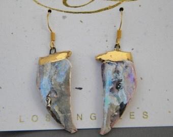 Hannah earrings One-of-a-kind hand made Amy Lacombe