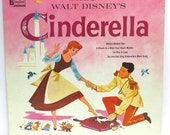 Cinderella #3 Album Cover Purse Custom Made Vintage Record Purse Walt Disney LP Album Handbag Tote