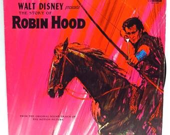 Robin Hood Album Cover Purse Custom Made Vintage Record Purse Walt Disney LP Album Handbag Tote