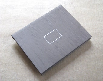 Photo Album Wallet in Silver Taupe