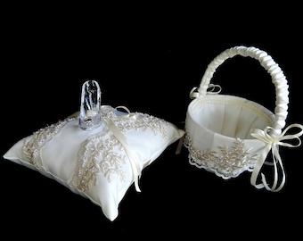 Fairy tale  Cinderella wedding ring bearer pillow glass slipper .ring bearer  pillow