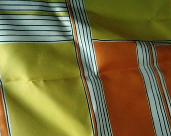 Vintage VERA Orange & Yellow Scarf