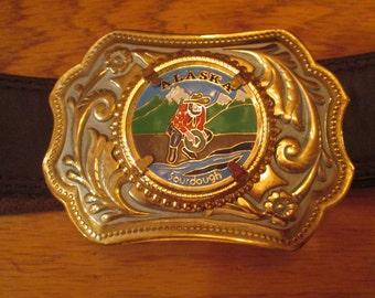 Vintage Alaska Belt Buckle