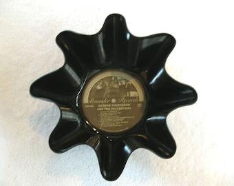 George Thorogood Record Bowl Made From Vinyl Album