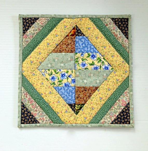 Quilted Scrappy Pot Holders / Hot Pads / by DocksideDesigns